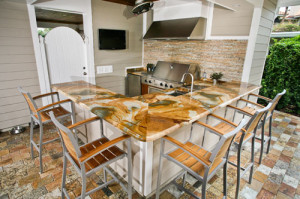 Custom Outdoor Kitchens, Cary