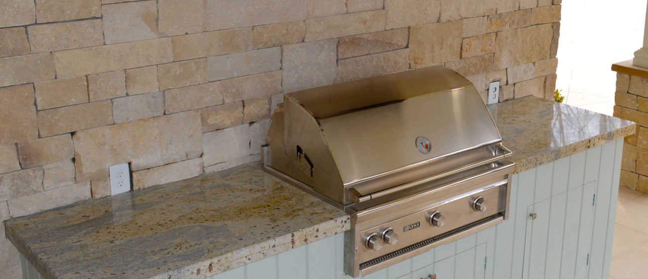 Outdoor Kitchen Granite and Marble Services